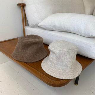 wool aw hat brown