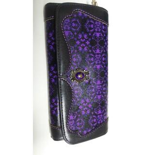 アナスイ(ANNA SUI)のアナスイ 長財布 黒×紫(財布)