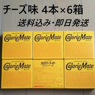 オオツカセイヤク(大塚製薬)の4本入 6箱 チーズ味 カロリーメイト ブロック(その他)