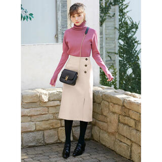 GRL - 【新品未使用♡】GRL フラノラップ風ボタンタイトスカート