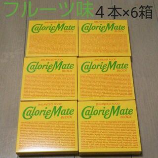 オオツカセイヤク(大塚製薬)の4本×6箱 カロリーメイト フルーツ味 (その他)