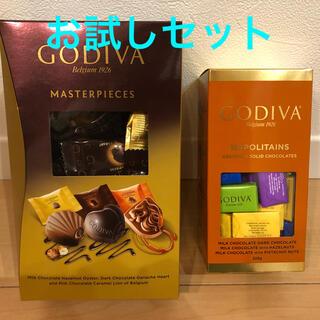 コストコ(コストコ)のゴディバ ナポリタン マスターピース お試しセット(菓子/デザート)
