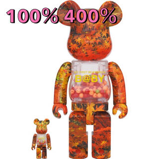 メディコムトイ(MEDICOM TOY)のBE@RBRICK B@BY AUTUMN LEAVES 100%&400%(その他)