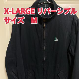 エクストララージ(XLARGE)の激レア  リバーシブルX-LARGE エクストララージ  ブルゾン チェック柄(ブルゾン)
