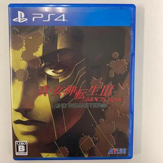 PlayStation4 - 真・女神転生III ノクターン HDリマスター PS4