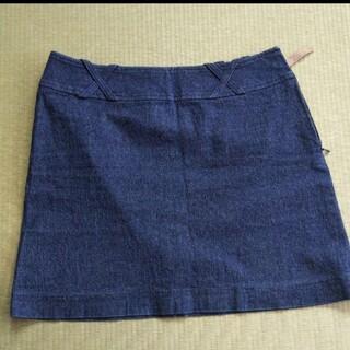 バーバリーブルーレーベル(BURBERRY BLUE LABEL)のバーバリーブルーレーベル デニムミニスカート(ミニスカート)
