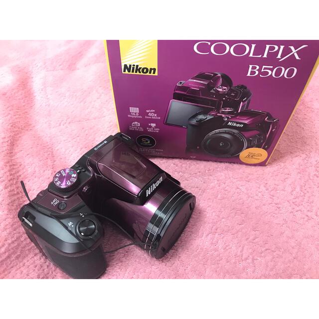 Nikon(ニコン)の【デジカメ】COOLPIX B500✨最終値下げです😭 スマホ/家電/カメラのカメラ(コンパクトデジタルカメラ)の商品写真