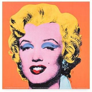 スウェーデン限定!現代美術家『アンディ・ウォーホル マリリン』希少ポスター!芸術(印刷物)