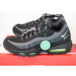 NIKE - 海外限定AIR MAX95 Retro Logo Black Grey Volt