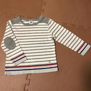 プチバトー(PETIT BATEAU)のプチバトー カットソー 3ans(Tシャツ/カットソー)