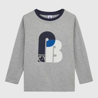 プチバトー(PETIT BATEAU)の新品未使用 プチバトー 5ans プリント長袖Tシャツ PB(Tシャツ/カットソー)
