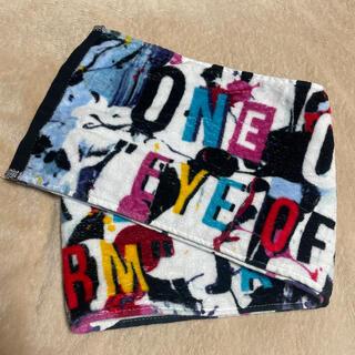 ワンオクロック(ONE OK ROCK)の【ONE OK ROCK】ワンオク マフラータオル(ミュージシャン)
