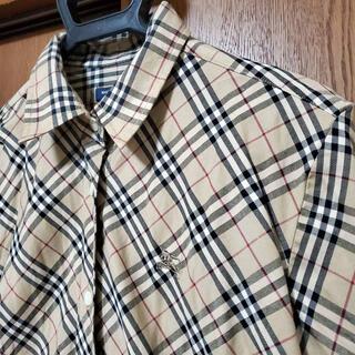 BURBERRY - 【美品】BURBERRYバーバリー★ノバチェックシャツ★Lサイズ☆