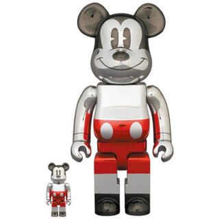 メディコムトイ(MEDICOM TOY)のBE@RBRICK FUTURE MICKEY 100/400%(その他)