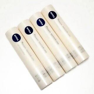 ニベア(ニベア)のニベア ディープモイスチャー リップクリーム 無香料 4本セット 未使用(リップケア/リップクリーム)
