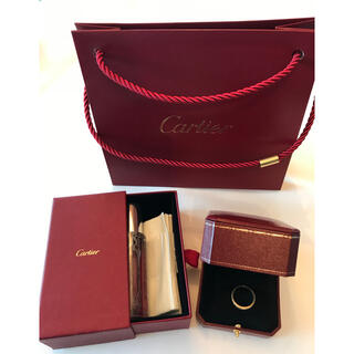Cartier - カルティエ  Cartier トリニティ リング k18  750  54サイズ