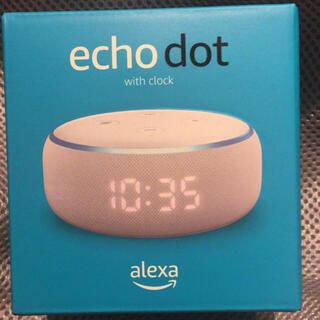 ECHO - ★新品★Amazon Echo Dot エコードットスマートスピーカー時計付き