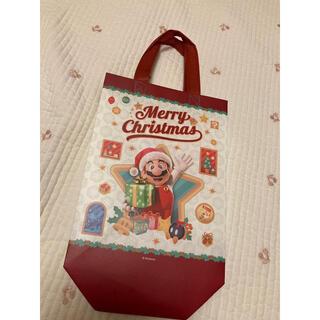 トイザラス(トイザらス)のマリオ ラッピング 未使用 クリスマス 袋(キャラクターグッズ)