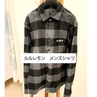 lululemon - ルルレモン メンズシャツ Mサイズ