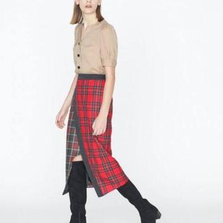 GRACE CONTINENTAL - グレースコンチネンタル チェックタイトスカート