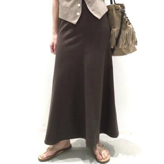 アパルトモンドゥーズィエムクラス(L'Appartement DEUXIEME CLASSE)の美品★L'Appartement★Punch Flare スカート 36(ロングスカート)