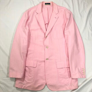POLO RALPH LAUREN - Ralph Lauren Pink single over-size JK