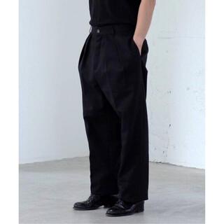 COMOLI - Neat usa トラウザーズ Size30 ブラック