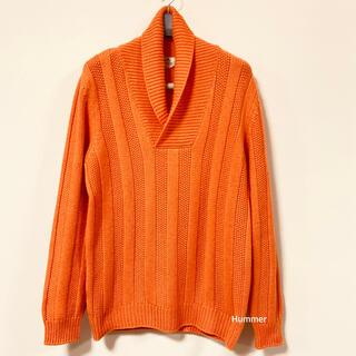 エルメス(Hermes)の国内正規品 美品 エルメス カシミヤ100 厚手 ニット セーター ショッパー付(ニット/セーター)