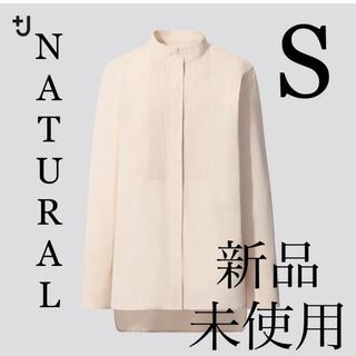UNIQLO - UNIQLO +J★スーピマコットンタックシャツ