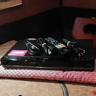 シャープ(SHARP)のSHARP BDS550 12倍録 2番組W録 500GB 外付HDD フル装備(ブルーレイレコーダー)