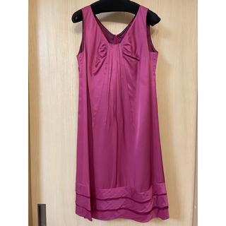 トゥモローランド(TOMORROWLAND)のBALLSEY(トゥモローランド)ドレス ワンピース 36 Sサイズ(ミディアムドレス)