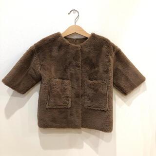 Caramel baby&child  - 美品! opening & ファーコート xs 韓国子供服