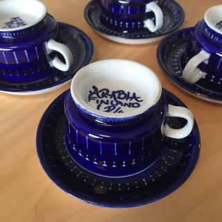 イッタラ(iittala)のアラビアバレンシアコーヒーカップ(食器)