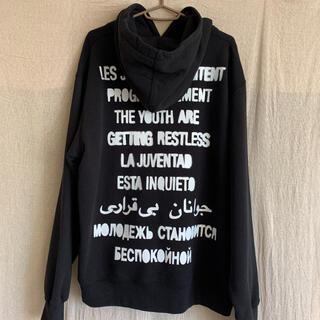 Supreme - 『新品未使用』supreme  restless hooded パーカーL 黒