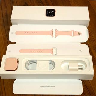 アップルウォッチ(Apple Watch)のApple Watch series5 GPSモデル 44mm(腕時計(デジタル))