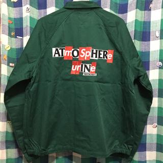 シュプリーム(Supreme)のsupreme antihero atmosphere jacket green(ブルゾン)