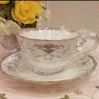 ノリタケ(Noritake)の《レア 廃盤》《新品》《日本製》ノリタケ ダイヤモンドコレクションカップ&ソ(食器)