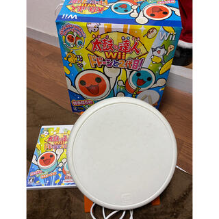 バンダイナムコエンターテインメント(BANDAI NAMCO Entertainment)の太鼓の達人ドドーンと2代目‼️ Wii(家庭用ゲーム機本体)