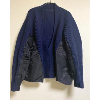 サカイ(sacai)のsacai セーター 異素材(ニット/セーター)