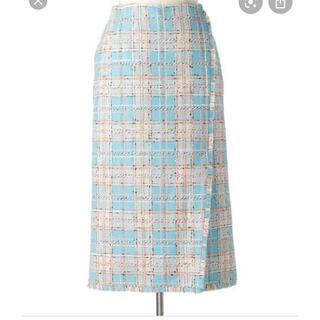 Drawer - ドゥロワー drawer ミックスツイード スカート