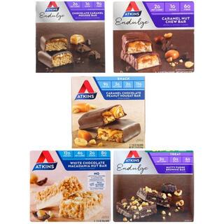 アトキンスバーバラエティパック5種5本【Atkins】(菓子/デザート)