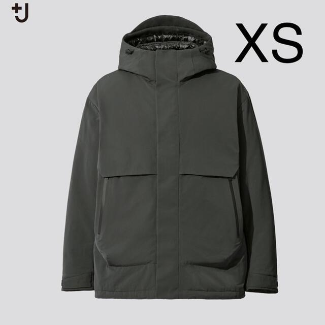 UNIQLO(ユニクロ)のname様 ハイブリッドダウンオーバーサイズパーカ +j dark green メンズのジャケット/アウター(マウンテンパーカー)の商品写真