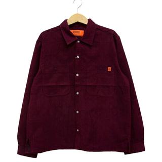 フリークスストア(FREAK'S STORE)のUNIVERSAL OVERALL  スエードタッチカラーシャツ(シャツ)