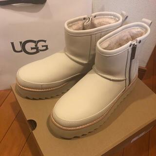 UGG - ☆美品☆UGG レディース クラシック リベル バイカー ミニ 24cm