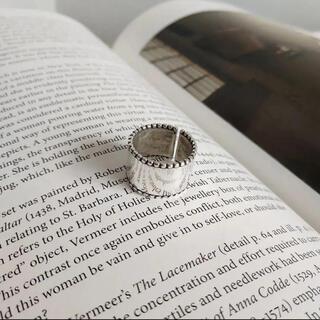 アメリヴィンテージ(Ameri VINTAGE)のシルバー リング(リング(指輪))