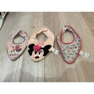 Disney - スタイ ヨダレかけ ミニーちゃん