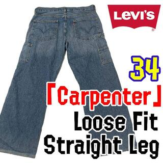 リーバイス(Levi's)のリーバイス ペインター デニム 34 Levi's levis ジーンズ (ペインターパンツ)