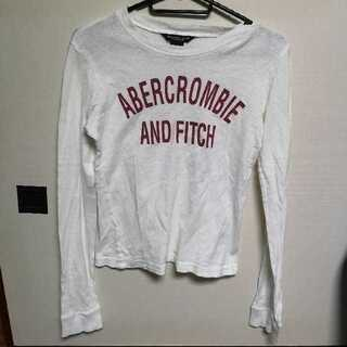 アバクロンビーアンドフィッチ(Abercrombie&Fitch)のabercrombie アバクロンビー ロゴ  ロンT Sサイズ(Tシャツ(長袖/七分))