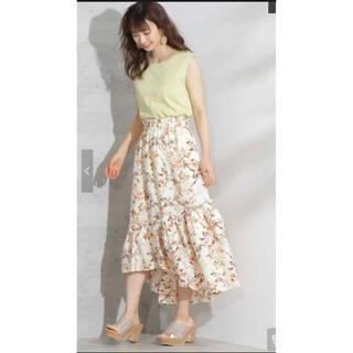 プロポーションボディドレッシング(PROPORTION BODY DRESSING)のプロポーションボディドレッシング 花柄ロングスカート(ロングスカート)