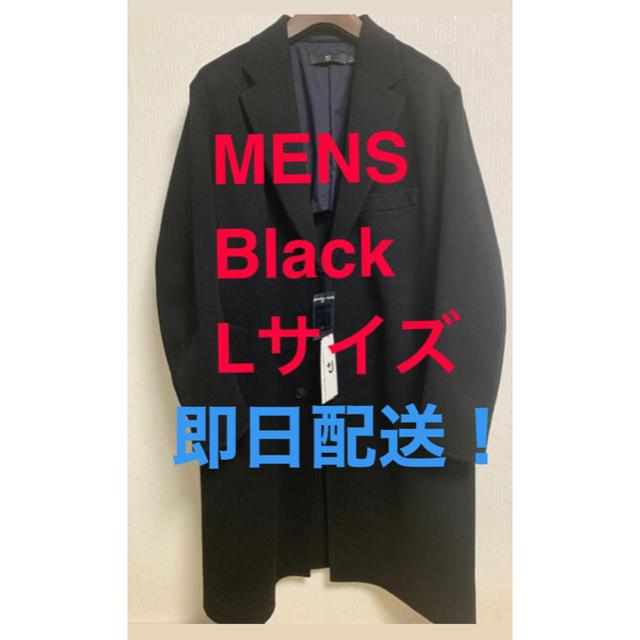 UNIQLO(ユニクロ)のUNIQLO ユニクロ +J カシミヤブレンドオーバーサイズチェスターコート メンズのジャケット/アウター(チェスターコート)の商品写真